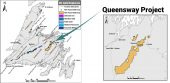 New Found Gold's Queensway project in Newfoundland. Credit: New Found Gold