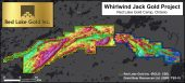 Whirlwind Jack Magnetics Map Credit: Red Lake Gold Inc.