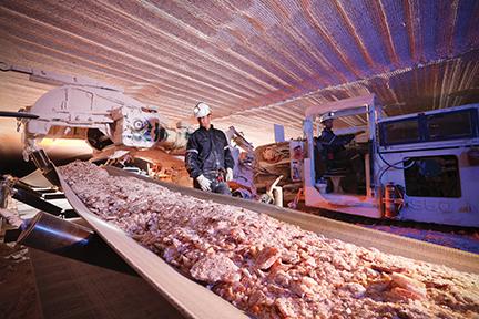 Nutrien's Rocanville potash mine. Credit: Nutrien