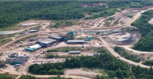 The Caribou zinc mine in New Brunswick. Credit: Trevali Mining