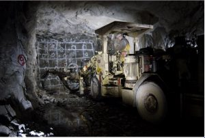 Drilling at Eagle River. Credit: Wesdome Gold Mines