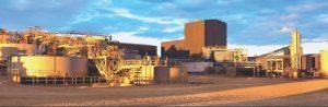 The company's Cerro Moro gold-silver mine in Argentina. Credit: Yamana Gold