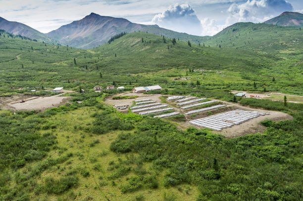 Atac Resources' Rackla gold project in the Yukon. Credit: Atac Resources