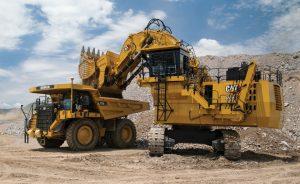 Cat 6030 hydraulic shovel Credit: Caterpillar