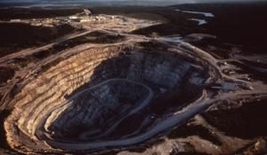 Cameco's open pit mine Credit: MAC
