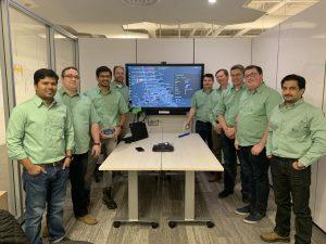 Digitalization team Credit: Epiroc