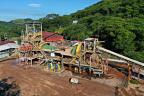 Calibre Mining's El Limon ball mill in Nicaragua. Credit: Calibre Mining