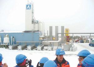 Kittila mine in Finland