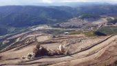 Open pit blast at the Eagle mine Credit: Victoria Gold