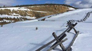 South pit ridge at Beartrack Credit: Revival Gold