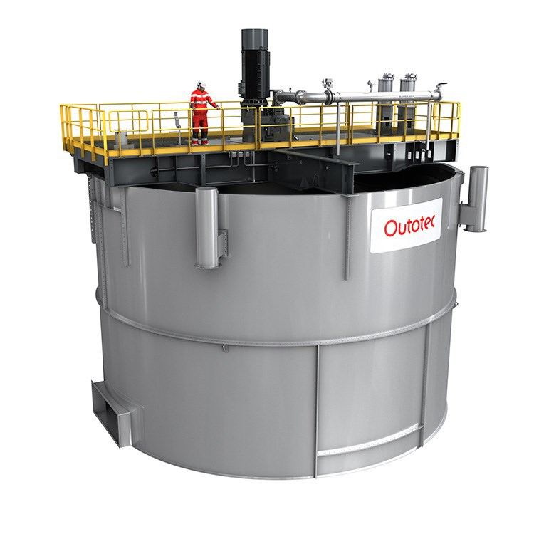 Outotec's TankCell s-Series flotation unit. Credit: Outotec