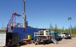 Drill rig at Taramack North Credit: Talon