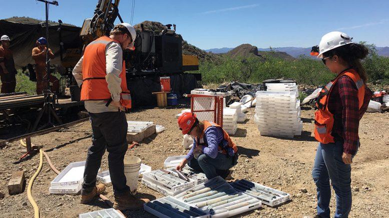 Drill site at Las Chispas Credit: SliverCrest