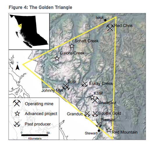 British Columbia's Golden Triangle area. Credit: EY