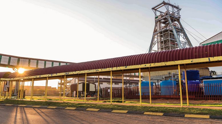 Harmony Gold operations in South Africa Credit: Harmony