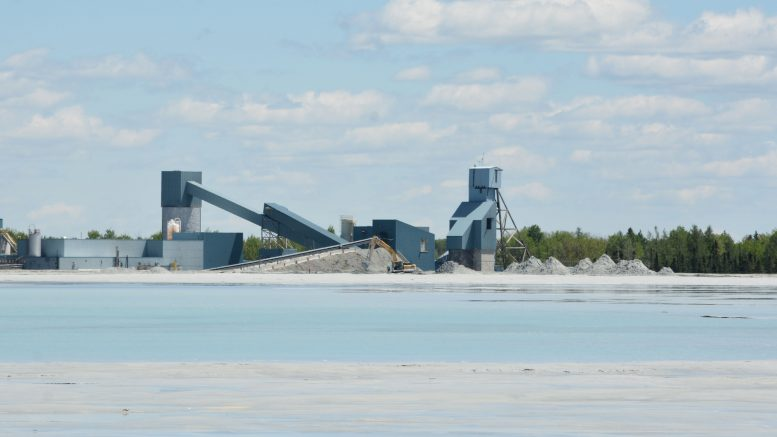 The mill at McEwen Mining's Black Fox complex in Ontario. Credit: McEwen Mining