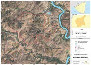 Proposed San Albino mine layout Credit: Mako