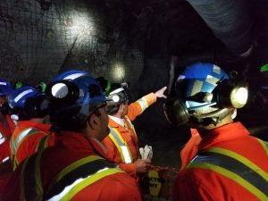 Training underground Credit: Norcat