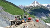 A drill site at Seabridge Gold's KSM gold-copper project, 65 km northwest of Stewart, British Columbia Credit: Seabridge