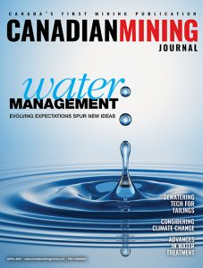 April cover of CMJ
