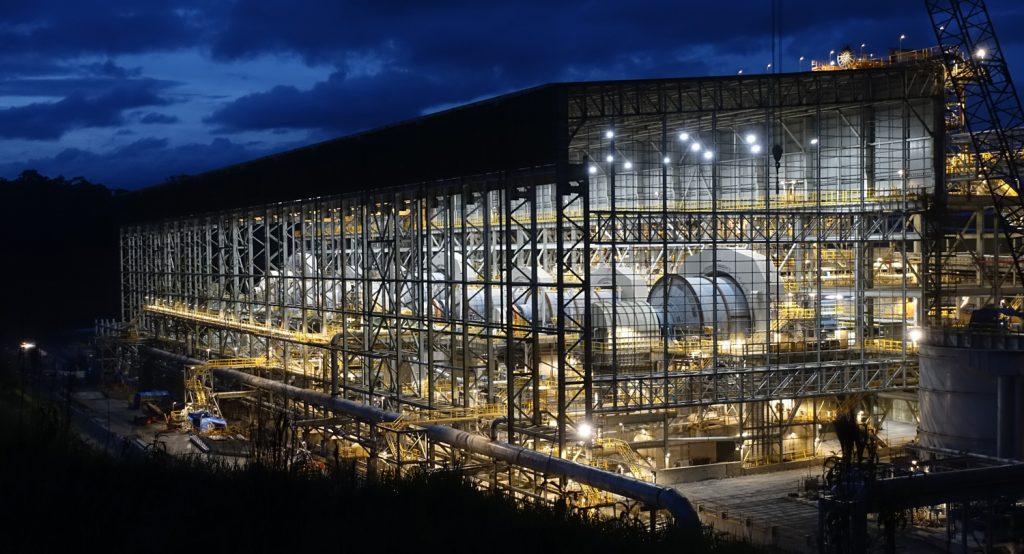The processing plant at First Quantum Minerals' Cobre Panama copper mine, in Panama. Credit: First Quantum Minerals