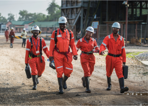 At Golden Star Resources' Prestea mine in Ghana Credit: Golden Star