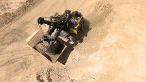 Komatsu 2650CX P&H hybrid shovel