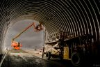 Portal to underground ramp at Stornoway Diamond's Renard mine in Quebec. Credit: Stornoway Diamond