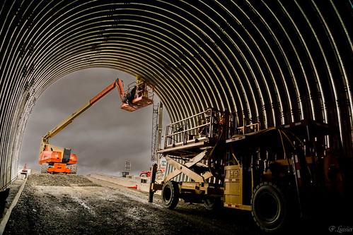 Portal to underground ramp at Stornoway Diamond's Renard mine in Quebec. Credit: Stornoway Diamond