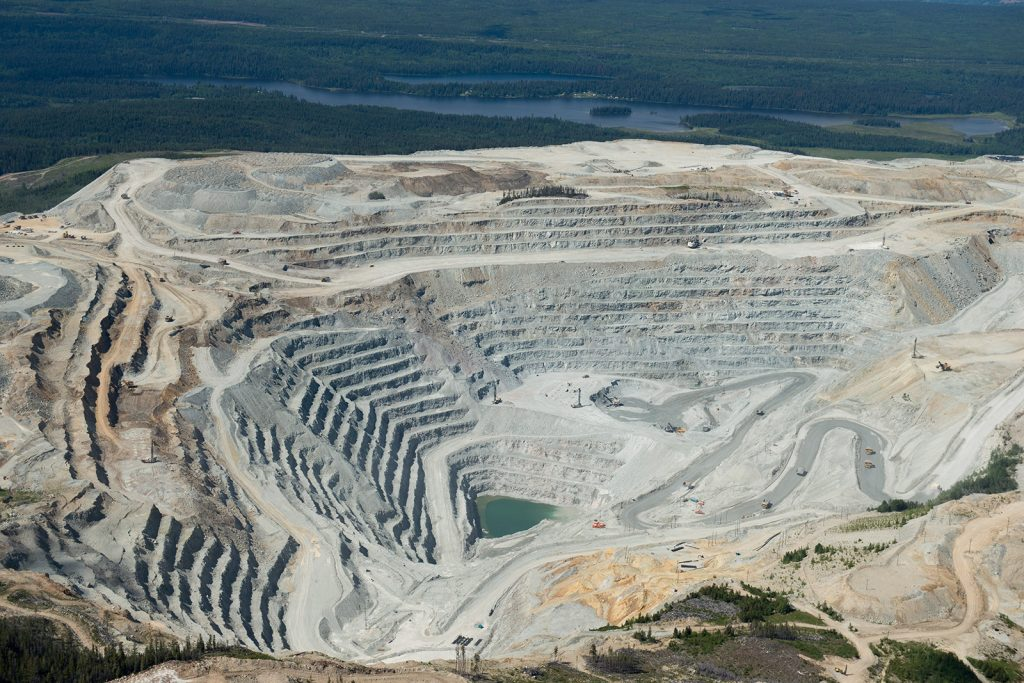 Taseko Mines' Gibraltar mine in British Columbia. Credit: Taseko Mines
