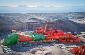 ABB installation at Codelco's Chuquicamata underground copper mine, in Chile. Credit: ABB