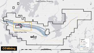 East Cadillac property map Credit: O3