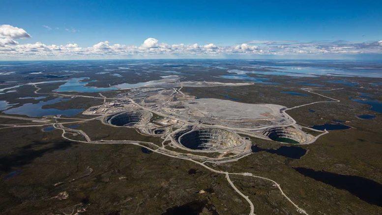 The Ekati mine, in the Northwest Territories. Credit: Washington Companies