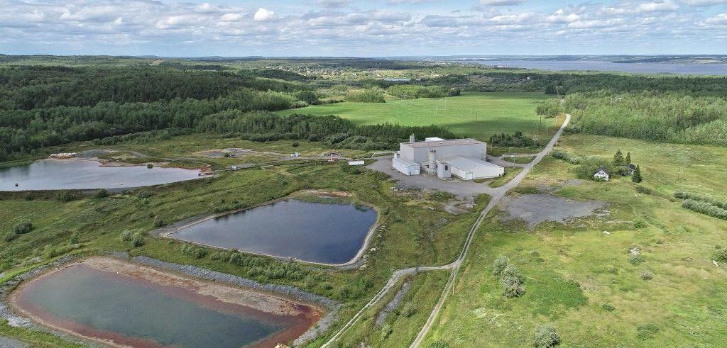 First Cobalt's refinery near Cobalt, Ont. Credit: First Cobalt