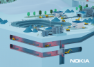 The connected mine. Credit: Nokia