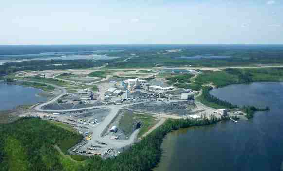 Newmont's Musselwhite gold mine in northern Ontario. Credit: Newmont