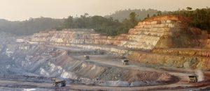 Rosebel mine site Credit: Iamgold