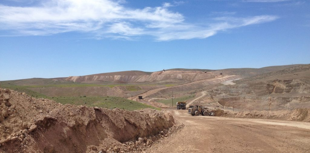 The South Arturo gold mine in Nevada, owned by Nevada Gold Mines and Premier Gold Mines. Credit: Premier Gold Mines