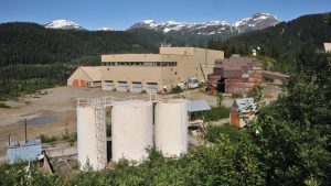 The historic mill at Ascot Resources' Premier gold project Credit: Ascot
