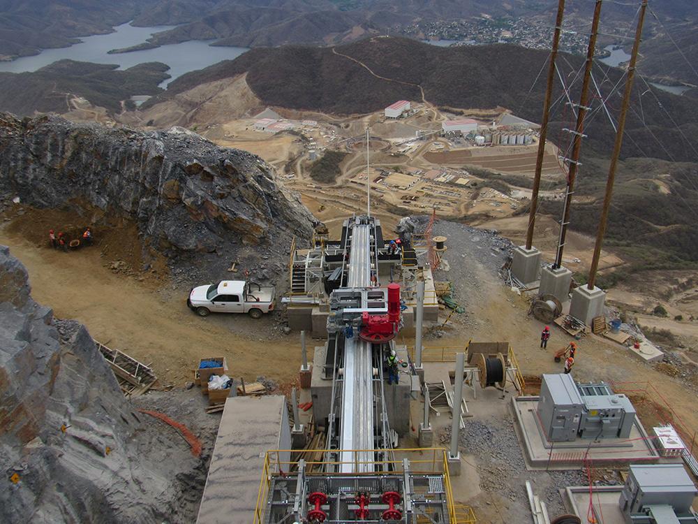 At Torex Gold's El Limon Guajes mine in Mexico. Credit: Torex Gold
