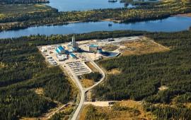 HudBay Minerals' Lalor mine, in Saskatchewan. Credit: HudBay