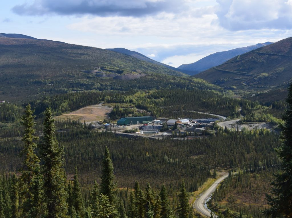 The mill at Alexco Resource's Keno Hill project in central Yukon. Credit: Alexco Resource