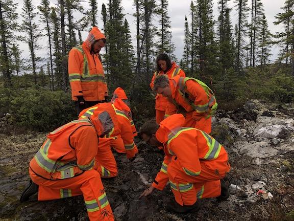 Azimut Exploration's Elmer gold project, in Quebec's James Bay region. Credit: Azimut Exploration