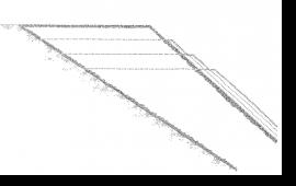 Figure 1: Re-contouring – excavation detail