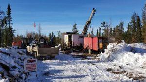 Drilling at Pine Point Credit: Osisko Metals