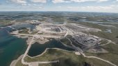 The Gahcho Kue diamond mine, in the Northwest Territories. Credit: Mountain Province Diamonds