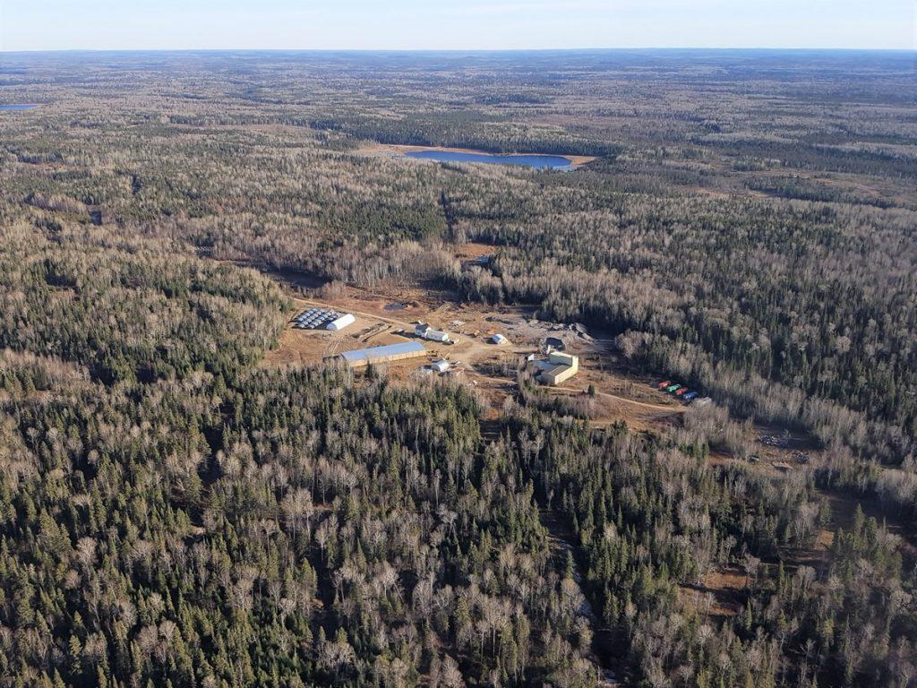 Goldlund site Credit: First Mining