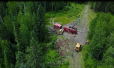 Drilling at Great Bear Resources' Dixie project, near Red Lake, Ont. Credit: Great Bear Resources