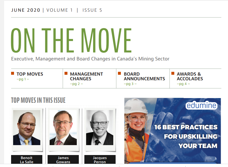 June edition of On the Move