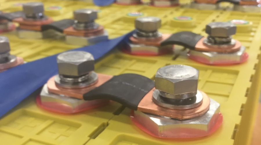 LFP battery cells. Credit: Wikimedia Commons/Yo-Co-Man